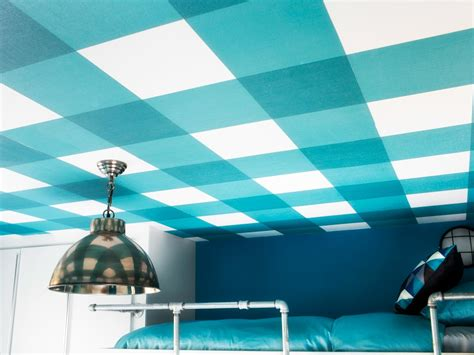 how to install oversized patterned ceiling wallpaper hgtv