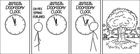 xkcd doomsday clock