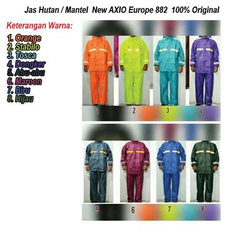 Laris Murah Jas Hujan Axio Europe 928 New Model Harga Grosir Murah Sup jual jas mantel hujan axio europe eropa type 928