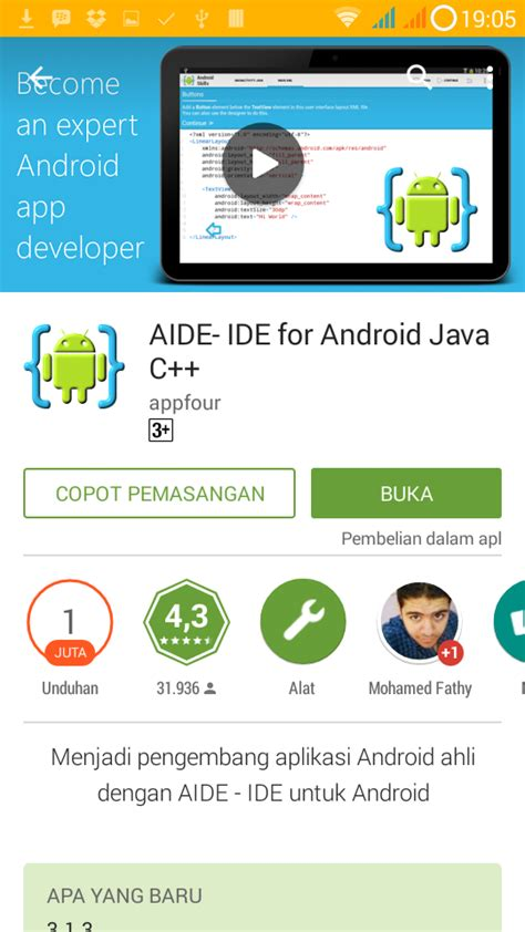 ide membuat aplikasi android mengenal aide java android ide pemrograman android