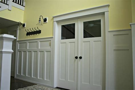 Craftsman Style Wainscoting mission style wainscoting house