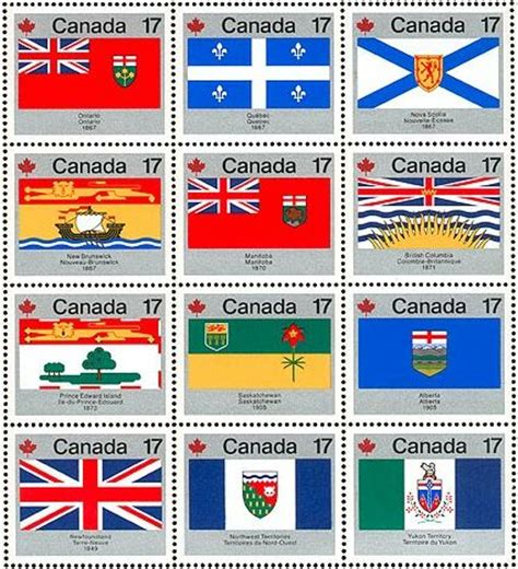 a for all time canada the canadian flag on canadian postage sts