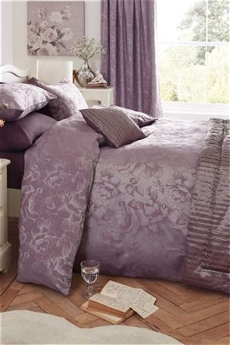 Mauve Bedding Set Buy Jacquard Bed Set From The Next Uk Shop Flat Ideas Pinterest Uk And Bed Sets