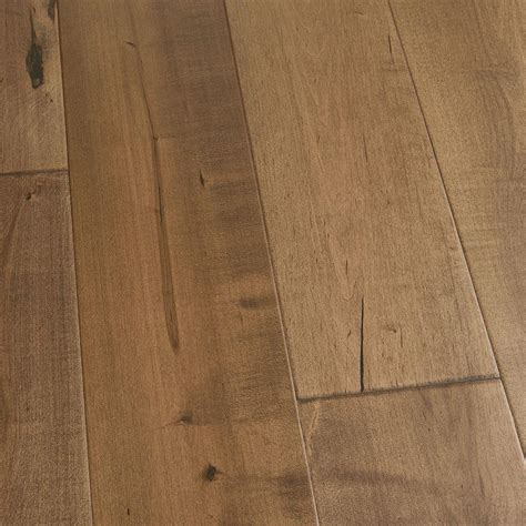 Floating Engineered Hardwood Flooring Malibu Wide Plank Take Home Sle Maple Cardiff Engineered Click Hardwood Flooring 5 In X