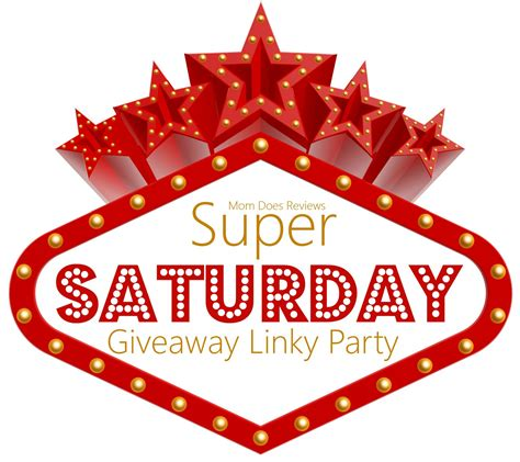 super saturday giveaway linky needs your giveaways momdoesreviews com bloglovin - Saturday Giveaway