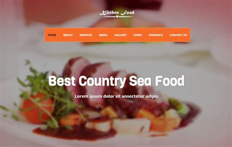 bootstrap templates for restaurant restaurant bootstrap 4 website template free download