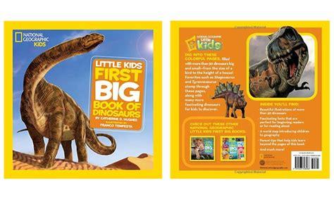 First Big Book Of Dinosaurs Groupon