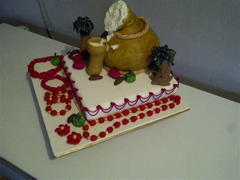 Nigerian Traditional Wedding Cake   CakeCentral.com
