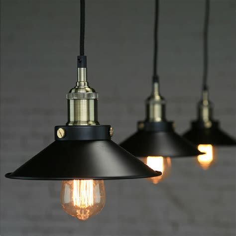buy lights buy loft vintage iron black pendant