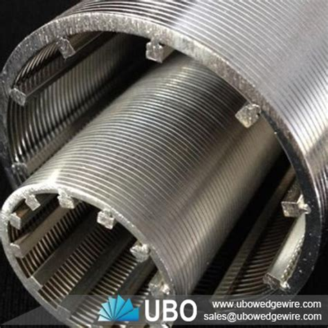 astm 316 cylinder screen strainer stainless steel pre packed sand screen with base pipe industrial filtration wedge wire