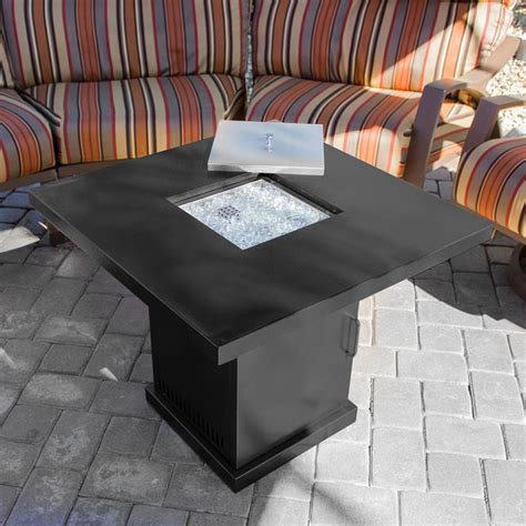 patio heater table pit outdoor backyard propane