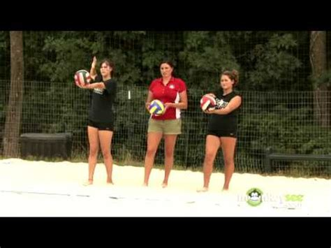 setter dump shot setting tips from dick powers volleyball training c