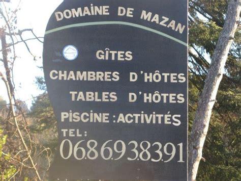 Chambre D Hote Mazan by Domaine De Mazan Chambre D H 244 Te 224 Chassiers Ardeche 07