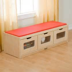 Bedroom Storage Bench Wood Bedroom Ideas Particle Wood Based Bench With Book
