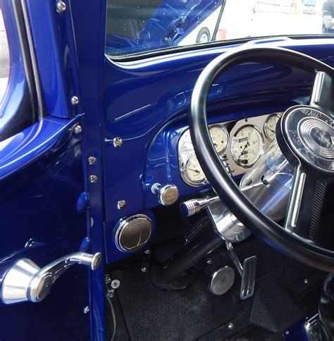 custom interior fabrication 1938 chevrolet pepsi truck