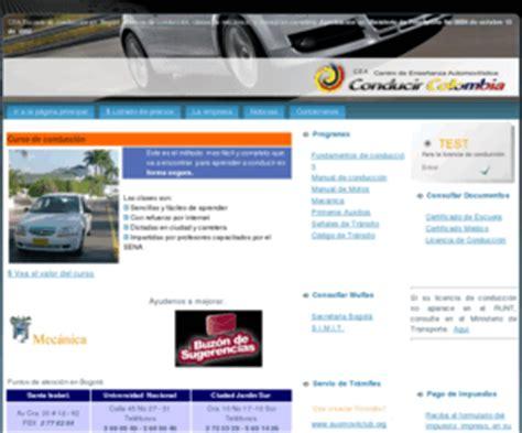 consultar multas de transito en bogota infodeayuda conducircolombia com escuelas de automovilismo conducir
