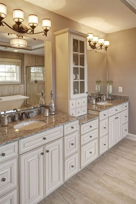 white bathroom cabinet ideas 17 best ideas about granite bathroom on