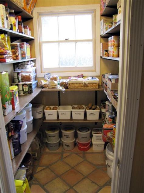How To Store Potatoes And Onions In Pantry by This Pantry For A Large Family With Room For Storage