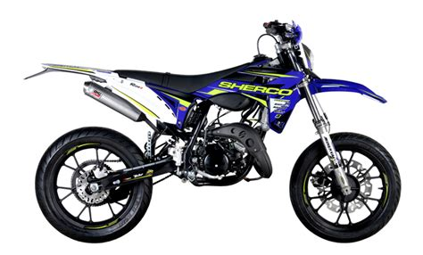 50ccm Motorrad Enduro by Sherco 50cc Factory 2016 Disponible En Supermotard Et