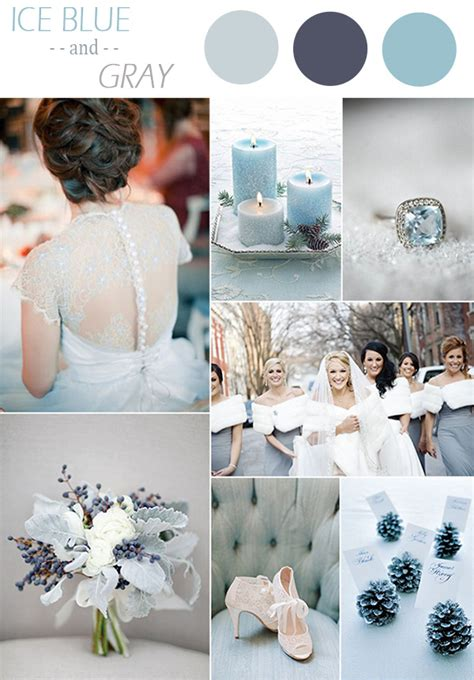 colour themes for a winter wedding top 10 winter wedding color ideas and wedding invitations
