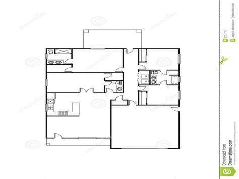 single house floor plan single family house plans free single floor house plans
