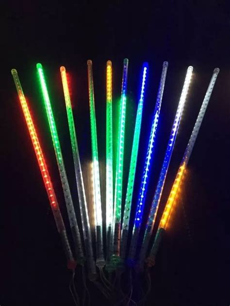 meteor shower lights led meteor shower lights