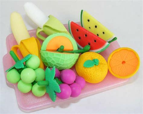 fruit erasers japanese fruit erasers office