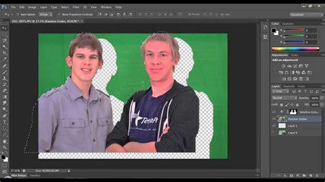 Photoshop Cs3 Green Screen Tutorial | green screen in adobe photoshop cs6 the tutorial