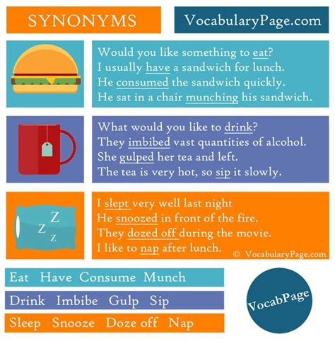 sleep synonym 1000 images about synonyms on pinterest english