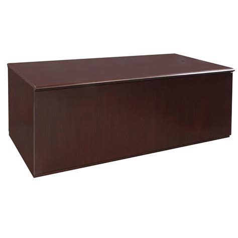 72 x 36 desk metro 36 215 72 veneer double pedestal used desk mahogany