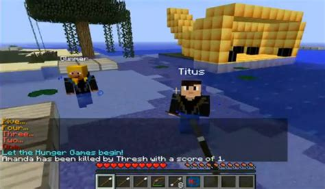 hunger games mod in minecraft the hunger games mod for minecraft 1 6 2 and 1 5 2
