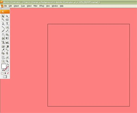 illustrator change background color how to change a background in adobe illustrator 5 easy steps