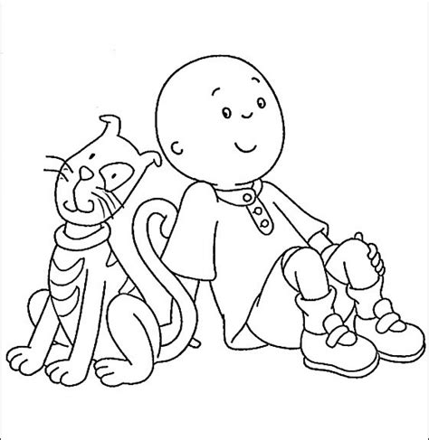 get this printable caillou coloring pages 9wchd