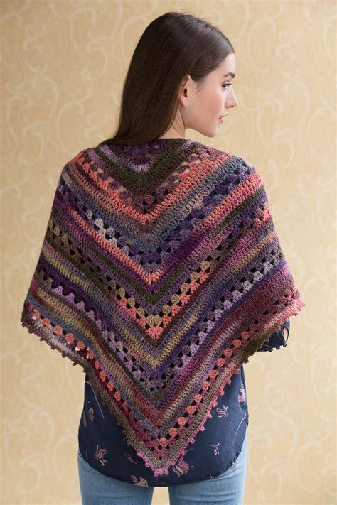 shawl pattern free simple crocheted shawl in navajo tahki charles