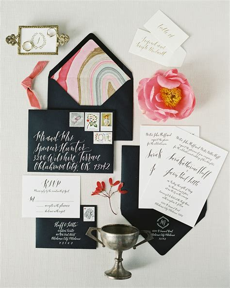 Best Wedding Invitations the best wedding invitations of 2016