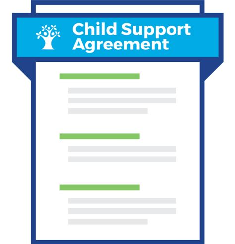 Letter Of Agreement To Pay Child Support Supportpay Child Support Agreement Supportpay