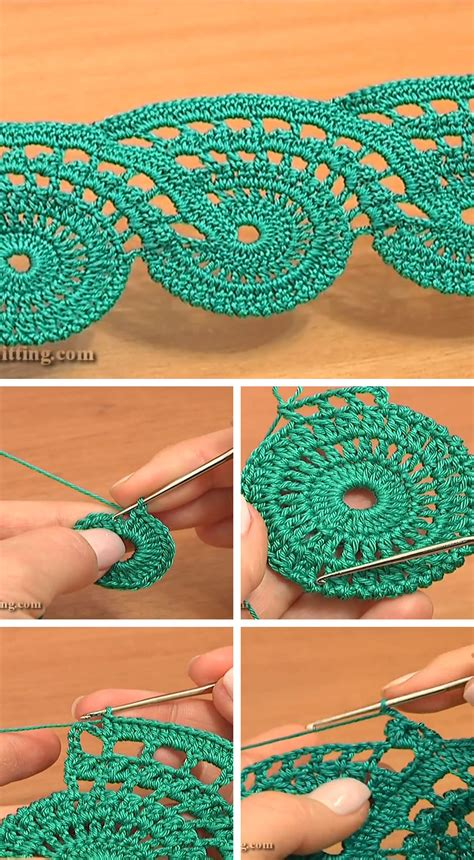 pattern crochet lace lace crochet free pattern and tutorial crochetbeja