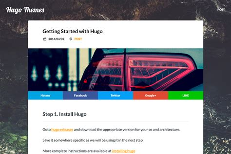 hugo themes blog hugo theme solit hugo themes