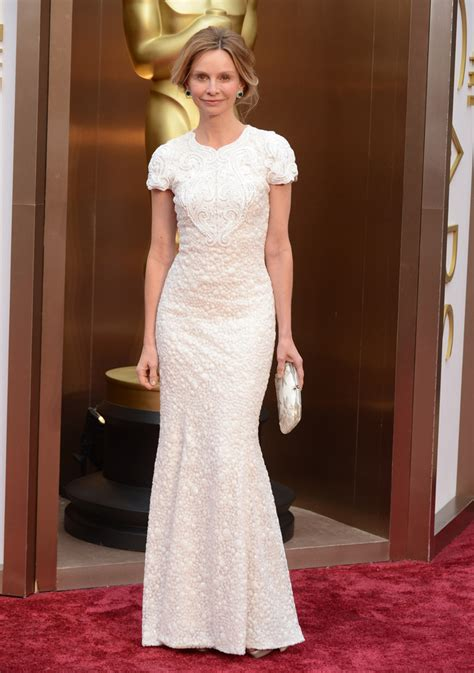 Oscars Carpet Calista Flockhart by Calista Flockhart In Andrew Gn 2014 Oscars