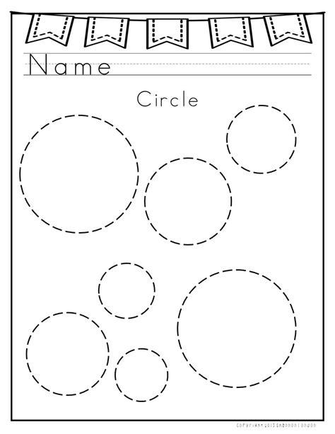 circle coloring pages preschool 2d shapes worksheets shapes worksheets worksheets and