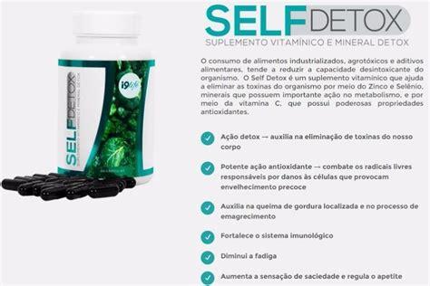 Self Detox From by 3 Potes Self Detox I9 Emagrecedor Exterminador De Gordura