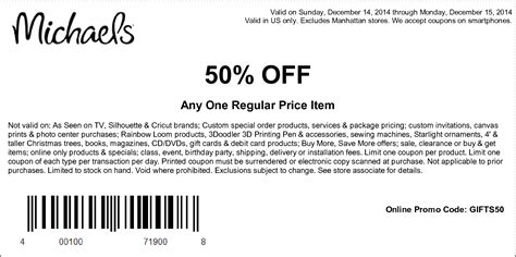 2015 printable michaels coupon 50 off michaels for coupons 2017 2018 best cars reviews