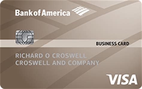 Bank Of America Business Card