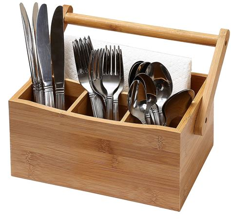 cutlery holder for table kitchen utensil organizer flatware storage cutlery caddy
