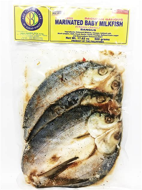 Spicy 500g sbc baby milkfish marinated spicy 500g from buy