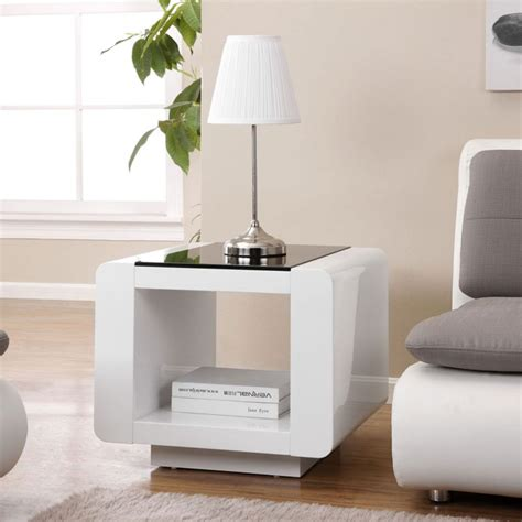Living Room End Table White Side Tables For Living Room Smileydot Us