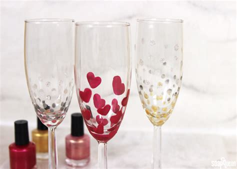Painting Wine Glasses With Nail Polish Best Painting 2018