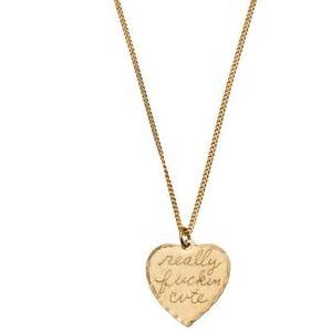 In god we trust really fuckin cute heart necklace polyvore