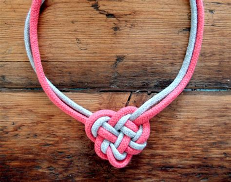how to make celtic knot jewelry celtic knot necklace make diy projects how tos
