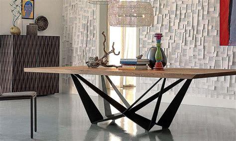 cattelan tavoli cattelan italia tavoli fissi skorpio in legno e metallo